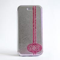 @@(アトアト) x GLAMBABY iPhone6用ケース Pink on Silver